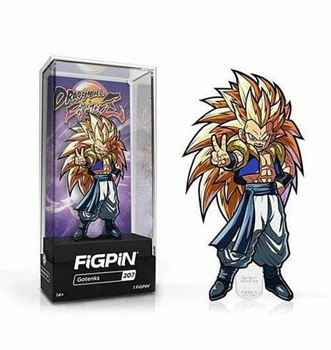 Dragon Ball Fighter Z Gotenks FiGPiN Enamel Pin Lapel Anime NIB DBZ