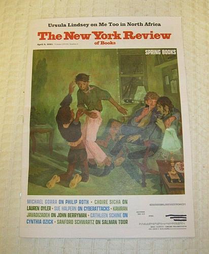 New York Review of Books April 8, 2021 Spring Book Reviews