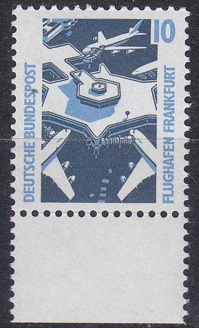 GERMANY BUND [1988] MiNr 1347 A ( O/used ) [01] Bauwerke Bogenrand