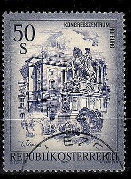 ÖSTERREICH AUSTRIA [1975] MiNr 1478 ( O/used ) Architektur