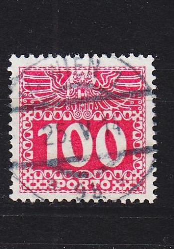 ÖSTERREICH AUSTRIA [Porto] MiNr 0044 y ( O/used ) [01]