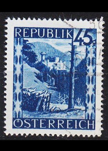 ÖSTERREICH AUSTRIA [1945] MiNr 0759 ( O/used ) Landschaft