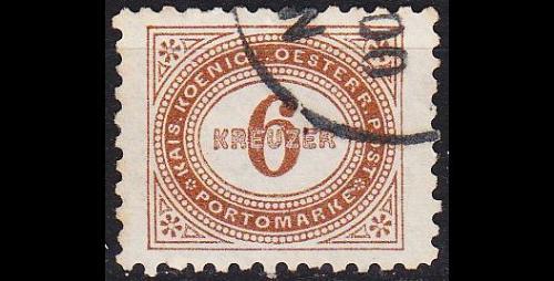 ÖSTERREICH AUSTRIA [Porto] MiNr 0005 A ( O/used )