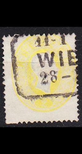 ÖSTERREICH AUSTRIA [1860] MiNr 0018 ( O/used ) [01]