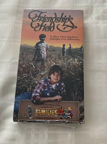 Brand New Friendships Field VHS Family Movie For Dog Rescue Charity