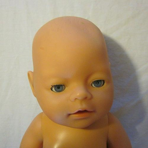 """Baby born 16"""" Potty Experience Doll Zapf Creation 2006 & clothes"""