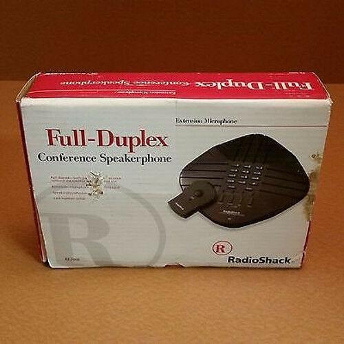 Radio Shack Full Duplex Speakerphone w/Dialer & Ext. Microphone 43-2006
