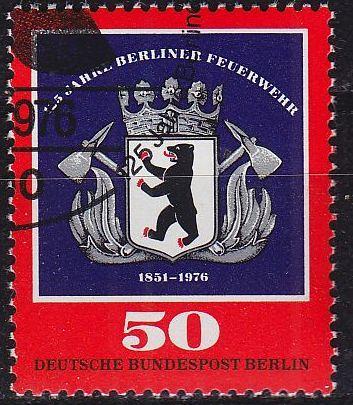 GERMANY BERLIN [1976] MiNr 0523 ( O/used )