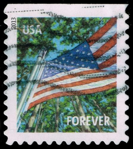 US #4783 Flag in Summer; Used (4Stars) |USA4783-03