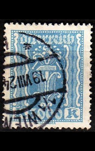ÖSTERREICH AUSTRIA [1922] MiNr 0396 a ( O/used )