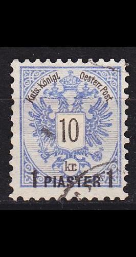 ÖSTERREICH AUSTRIA [Levante] MiNr 0017 A ( O/used )