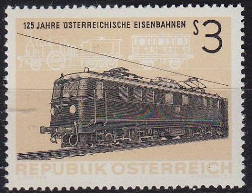 ÖSTERREICH AUSTRIA [1962] MiNr 1126 ( **/mnh ) Eisenbahn