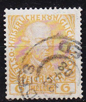 ÖSTERREICH AUSTRIA [1908] MiNr 0143 v ( O/used )