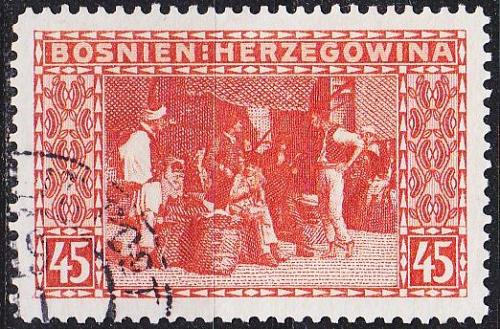 ÖSTERREICH AUSTRIA [BosHerz] MiNr 0040 ( O/used )