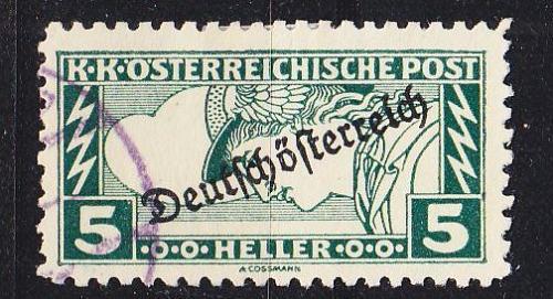 ÖSTERREICH AUSTRIA [1919] MiNr 0253 B ( O/used )