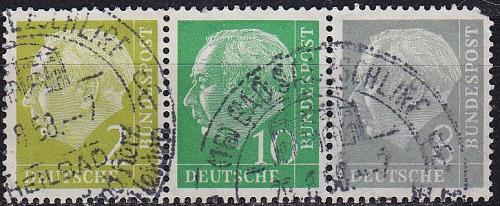 GERMANY BUND [Zdr] W13 ( O/used ) [01]