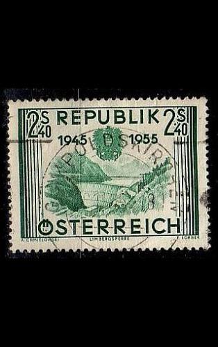 ÖSTERREICH AUSTRIA [1955] MiNr 1016 ( O/used ) Landschaft