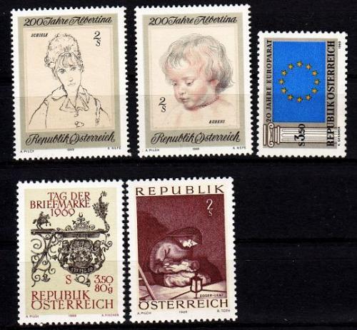 ÖSTERREICH AUSTRIA [1969] Jahr ex ( **/mnh ) [01]