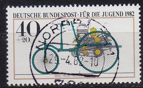 GERMANY BUND [1982] MiNr 1123 ( O/used ) Auto