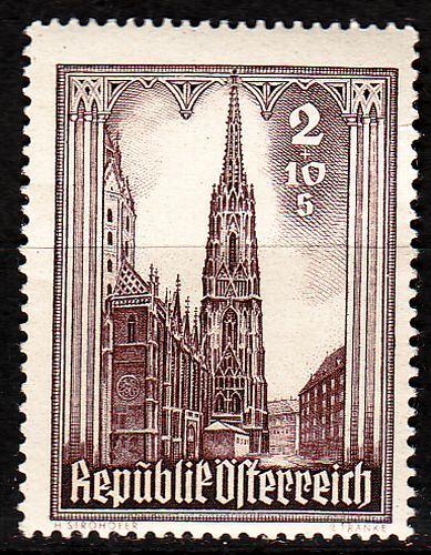 ÖSTERREICH AUSTRIA [1946] MiNr 0800 ( **/mnh ) Architektur