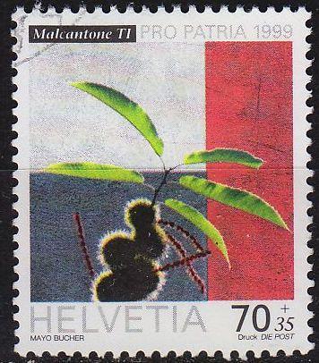SCHWEIZ SWITZERLAND [1999] MiNr 1681 ( O/used ) Pro Patria