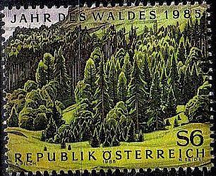 ÖSTERREICH AUSTRIA [1985] MiNr 1819 ( O/used ) Pflanzen