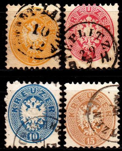 ÖSTERREICH AUSTRIA [1863] MiNr 0030 ex ( O/used ) [01]