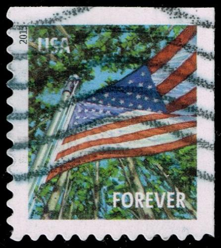 US #4783 Flag in Summer; Used (3Stars) |USA4783-01