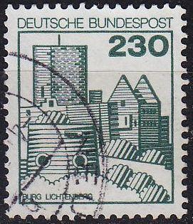 GERMANY BUND [1978] MiNr 0999 ( O/used ) Bauwerke