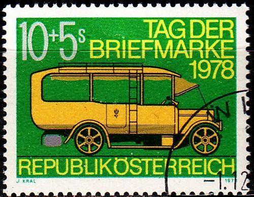 ÖSTERREICH AUSTRIA [1978] MiNr 1592 ( O/used ) Autos