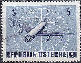 ÖSTERREICH AUSTRIA [1968] MiNr 1264 ( O/used ) Flugzeug
