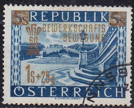 ÖSTERREICH AUSTRIA [1953] MiNr 0983 ( O/used )