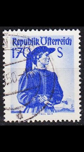 ÖSTERREICH AUSTRIA [1948] MiNr 0918 I xa ( O/used ) Trachten