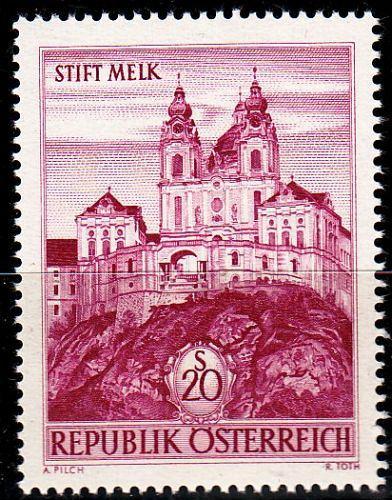 ÖSTERREICH AUSTRIA [1963] MiNr 1128 ( **/mnh ) Architektur