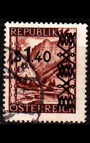 ÖSTERREICH AUSTRIA [1947] MiNr 0836 a ( O/used ) Landschaft