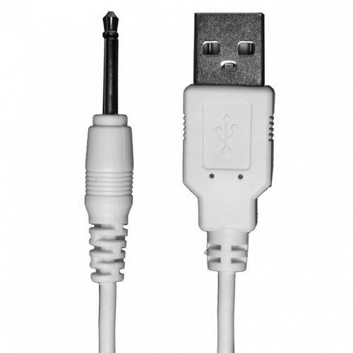 USB Pin Charger Cord (Ivibe Select Collection) White - DJ0100-51BU