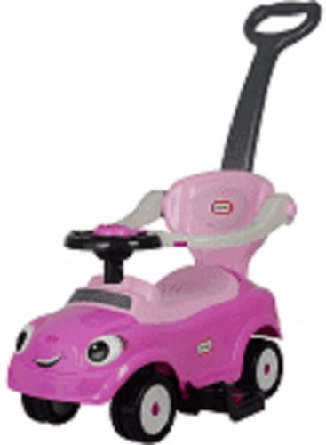 Best Ride On Cars Little Tike 3-in-1 Push Car in Pink