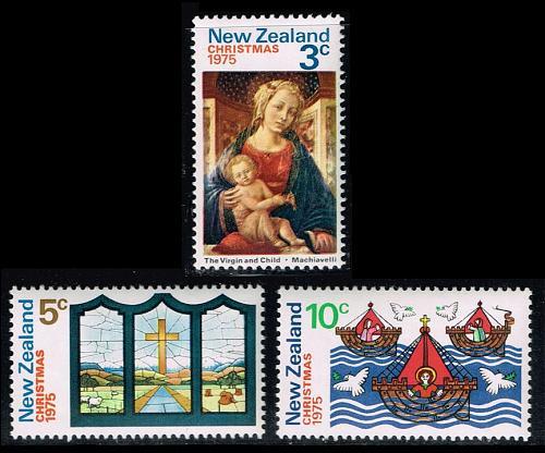 New Zealand #581-583 Christmas Set of 3; MNH (3Stars)  NWZ0583set-03XKN