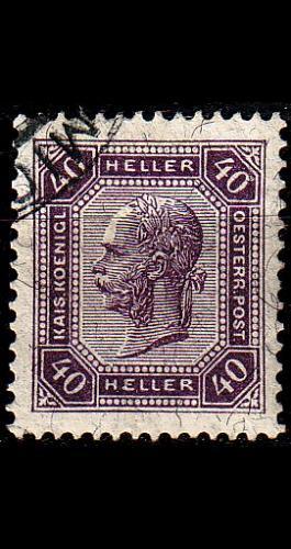 ÖSTERREICH AUSTRIA [1905] MiNr 0129 A ( O/used )