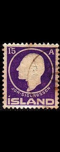 ISLAND ICELAND [1911] MiNr 0067 ( O/used )