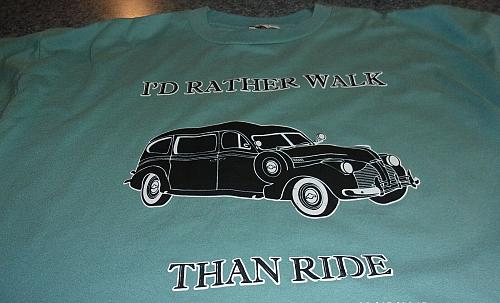 Vintage Car Design Tee Shirt Extra Large For Cocker Spaniel Rescue Charity