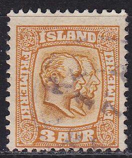 ISLAND ICELAND [1907] MiNr 0049 ( O/used )