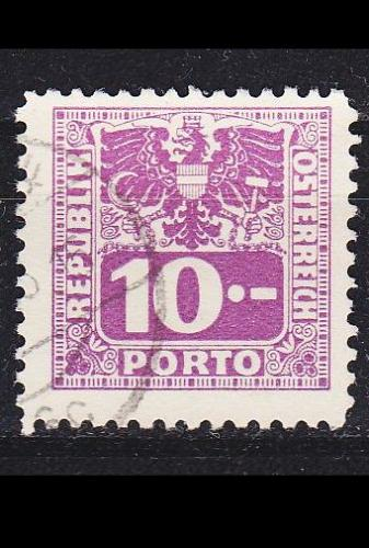 ÖSTERREICH AUSTRIA [Porto] MiNr 0188 ( O/used )