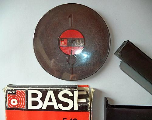 BASF ferro super LH HiFi to DIN 45 500 LP35. 549m, 1801. 18 cm / 7 in
