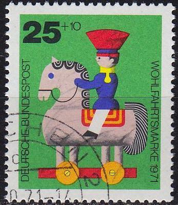 GERMANY BUND [1971] MiNr 0706 ( O/used )