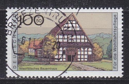 GERMANY BUND [1996] MiNr 1886 ( O/used ) Bauwerke