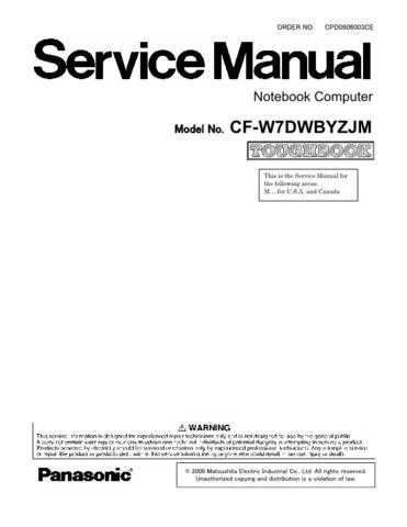 Panasonic CQ-C3304U Service Manual with Schematics by download Mauritron #266436