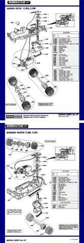 Scalextrix No.127 Super Stox and Banger Racing Service Sheets by download Mauri