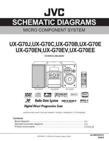 JVC UX-G70J Service Manual. On by download Mauritron #272821