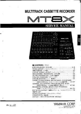 Yamaha MSR800W C Manual by download Mauritron #258068